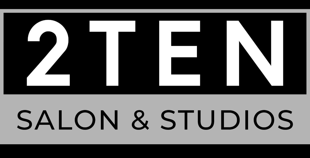 2 Ten Salon & Studio Logo