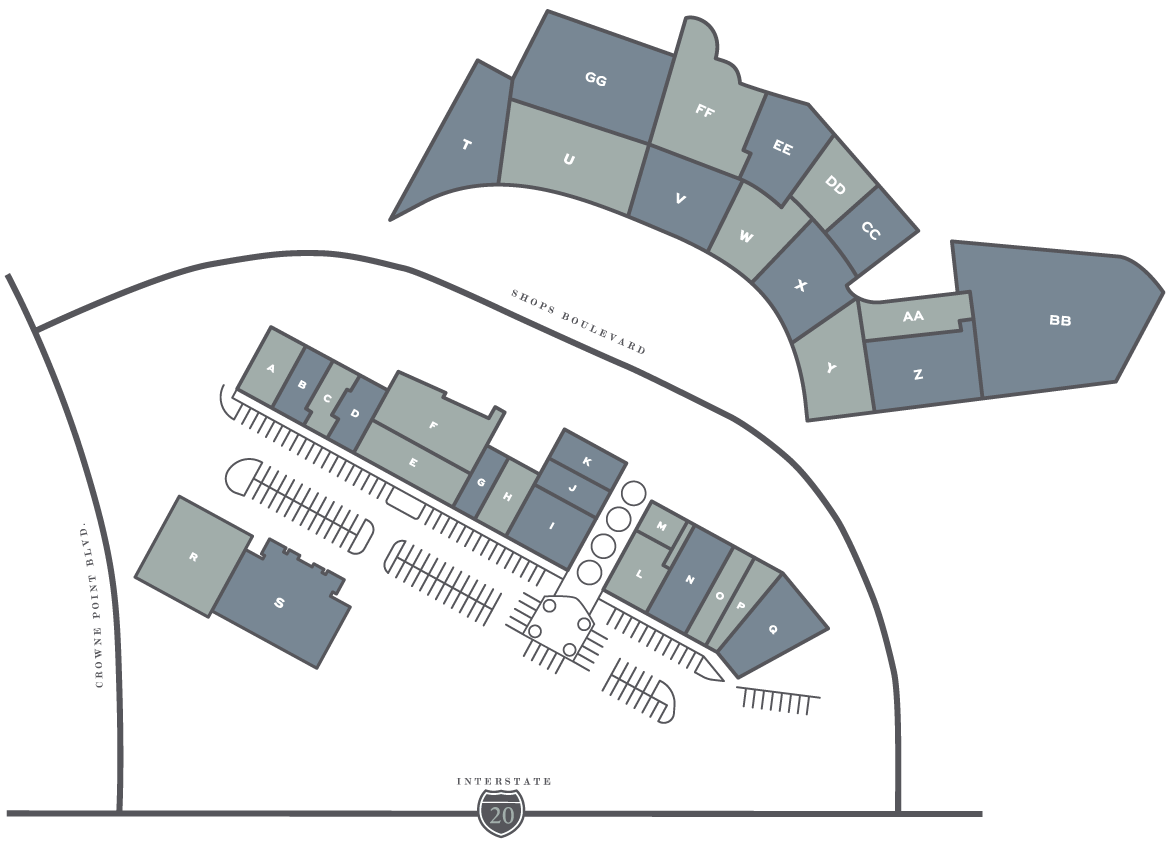 The Shops At Willow Park Map