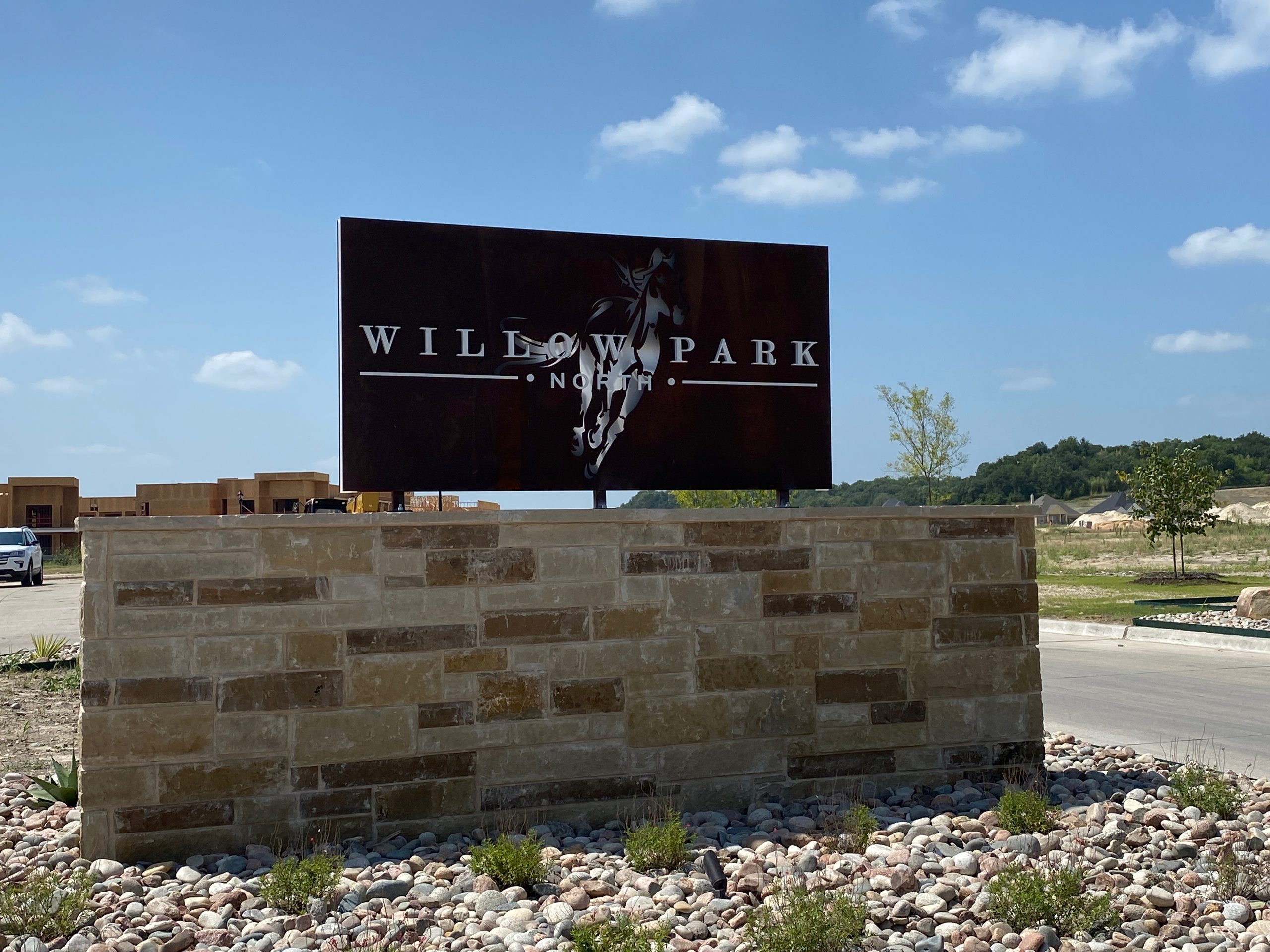 Willow Park North signage
